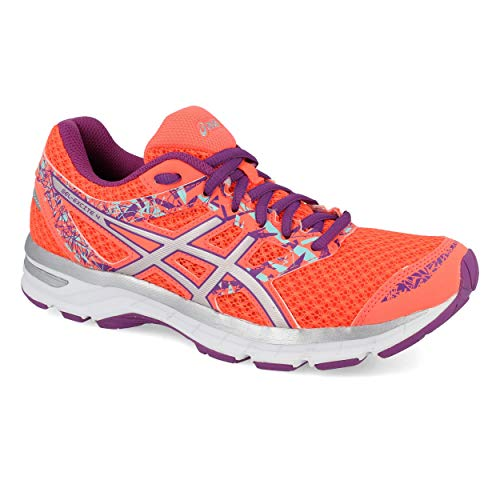 4 Excite Flash Running 0693 Coral Silver Multicolour Shoes Gel T6E8N Women's Asics Orchid FE1xSn8qw