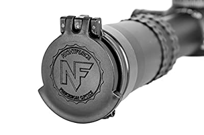 NightForce Riflescope Eyepiece Flip-Up Lens Caps, ATACR F2, Black from NightForce