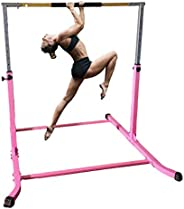Athletic Bar Expandable Gymnastics Kip Bar Horizontal Bar Professional Junior Gymnastic Training High Bar Asym