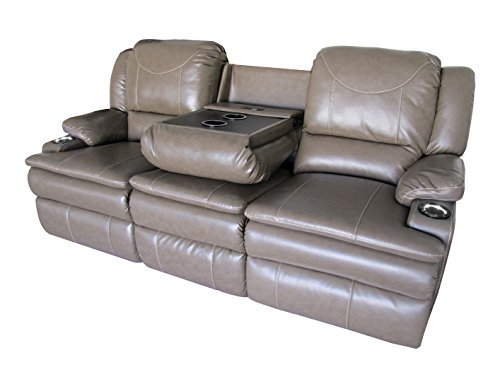 Clay Madison Jaleco Style Home Theater Seating Row of 2/3 Convertible Sofa Style for Home or RV