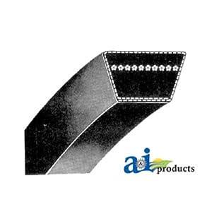 "1/2 X 90"" Kevlar Belt. Use For Craftsman Poulan Husqvarna 125907X, 102418X, 105372; John Deere M79204, M82718, M127524, M147279; MTD 754-0330, 754-3035; Simplicitiy 1666698SM, 1716854SM; Ariens 07210300 by PIX"