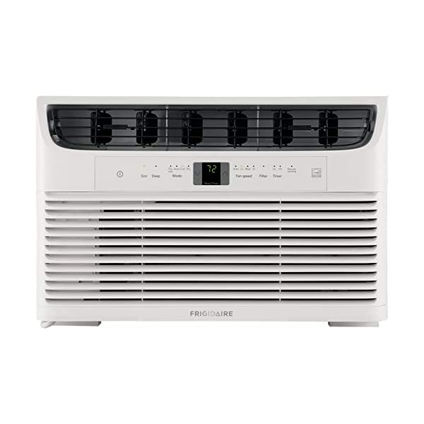 FRIGIDAIRE Energy Star 6,000 BTU 115V Window-Mounted Mini-Compact Air Conditioner...