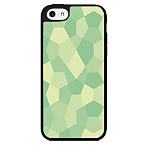 Teal Geometric Shapes Hard Snap on Phone Case (iPhone 5c)