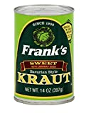 Frank's Bavarian Sauerkraut, 14-Ounce (Pack of 12)