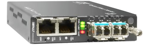 FRM220A-1002ES Industrial grade Gigabit Ethernet 4 port switch with web based management support (Slot Snmp Chassis)
