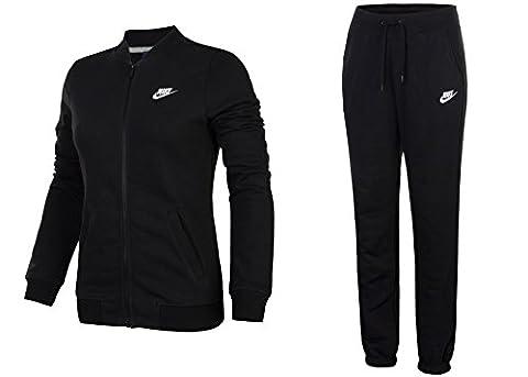 Nike Women's Fall Sportswear Tracksuit (M, Black/White)