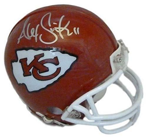 Alex Smith Autographed/Signed Kansas City Chiefs Mini Helmet