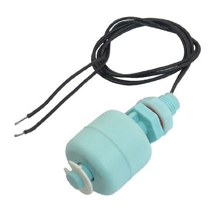 Sensor de nivel de agua del acuario del tanque vertical eDealMax flotante interruptor de control,