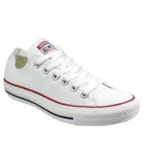 Converse Unisex – Adulto All Star Ox scarpe sportive bianco Size: 4 F(M) UK / 4 D(M) US