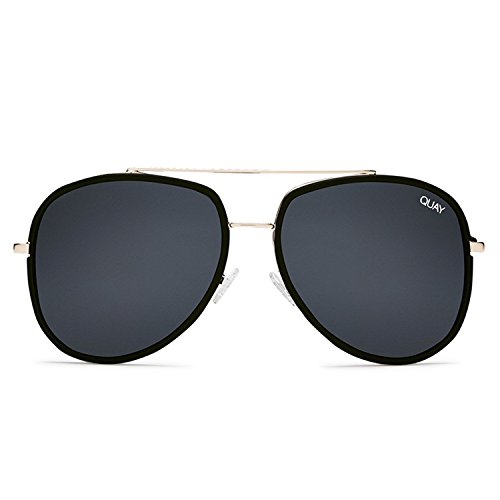 Quay Australia NEEDING FAME Women's Sunglasses Bold Aviator - - Shopbop Sunglasses