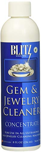 Blitz Gem & Jewelry Cleaner Concentrate (8 Oz) (6-Pack), 8 Ounce ()