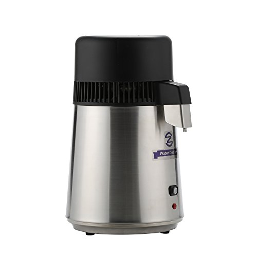 CO-Z Brushed Stainless Steel Countertop Home Water Distiller Machine with 4 Liter Connection Bottle by CO-Z (Image #2)