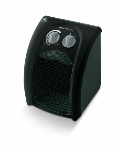 Bionaire 1800w Ceramic Heater, Black