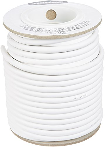AmazonBasics Speaker Wire - 12-Gauge, 99.9% Oxygen-Free Copper, 100 Feet
