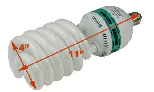 Hydroponic 85 Watt Daylight Spiral Compact Fluorescent Grow Light Bulb H85W