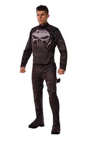 Marvel Men's Universe Deluxe Punisher Costume, Multi,