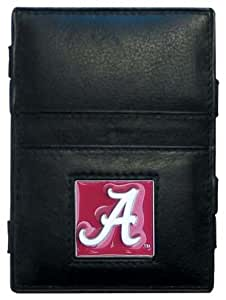 NCAA Alabama Crimson Tide Leather Jacob's Ladder Wallet