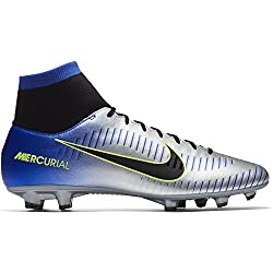 Nike Mercurial Victory Vi Df Njr Neymar Jr Fg Men Soccer Cleats -Racer Blue Size: 10