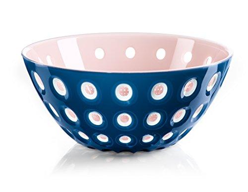 Guzzini Le Murrine Mediterranean Blue and Pink 9.8 Inch Bowl