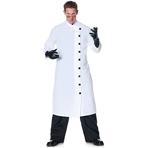 Mad Scientist Costumes - Underwraps Men's It's Alive, White/Black, One Size