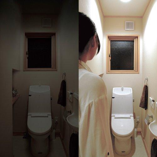 トイレでの使用例