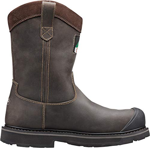 KEEN Utility - Men's CSA Tacoma Wellington XT (Composite Toe) Work Boots, Cascade Brown, 9 D