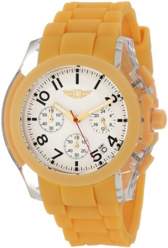 I by Invicta Men's 43949-004 Chronograph Orange/White Watch