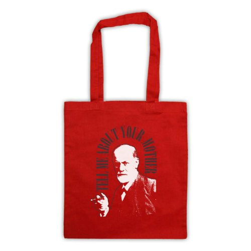 Red Me Your Mother Sigmund Freud Bag Tell About Tote Aqxq8Hw