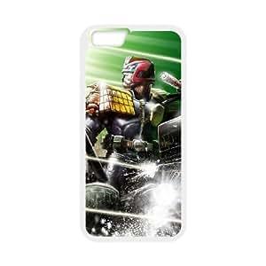 Judge Dredd iPhone 6 Plus 5.5 Inch Cell Phone Case White xlb-222134
