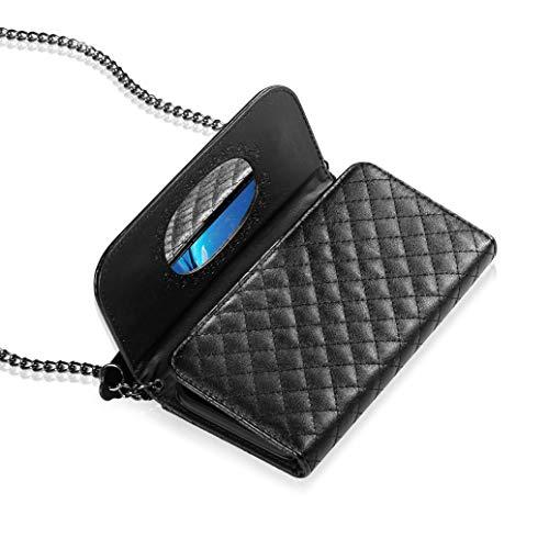 22fdd2203c12 Bosam iPhone XR case Ladylike iPhone Leather Wallet Crossbody ...