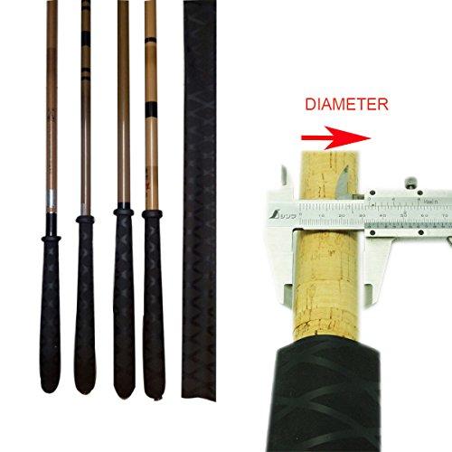fotag x tube heat shrink sleeve wrap tubing diy fishing rod handle rh masterbasser com