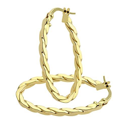 Citerna - Boucles d'oreilles - Or jaune - AR059Y