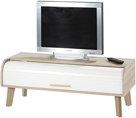 Simmob HAPPY220CCB - Mueble para televisor Vintage con Cortina ...