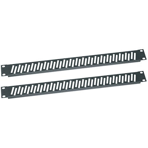 Middle Atlantic Essex by VPANEL-1U-2PK Flanged Vent Rack Panel Pair 1RU by Middle Atlantic