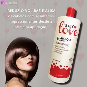 Is My Love Shampoo   Smooth Extreme Intense Hair Reconstruction Progressive Brusg 1000ml by Is My Love (Image #3)