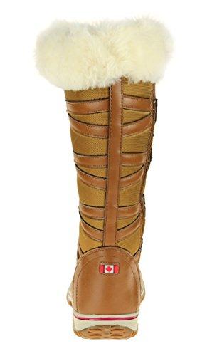 Pajar Grip Star Womens Snowboots Cognac