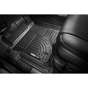Husky Liners 99011 Black Weatherbeater Front & 2nd Seat Floor Liners Fits 2009-2018 Dodge Ram 1500 Quad Cab, 2019 Dodge…