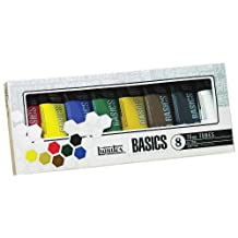 Liquitex Basics Acrylic Paint Tube 8-Piece Set