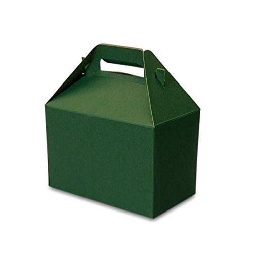 Amazon.com: Cartón verde Gable cajas 8 x 4 – 7/8 x 5 – 1/4 ...