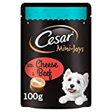 Cesar Mini-Joys Dog Treats Cheese & Beef 100g
