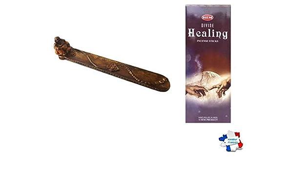 WLM Incienso Hem Divine Healing curación Divine + portaincienso 5 ...