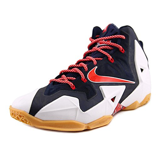 616175 Lebron Shoes White Independence Platinum Nike Red Mens 164 University Pure Day Obsidian XI 7daqqwX