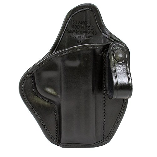 26970 Bianchi, 26970 155 Subversion IWB Holster, Smith&Wesson M&P 9mm/.4, 1/2″ Barrel, Right Hand, Black
