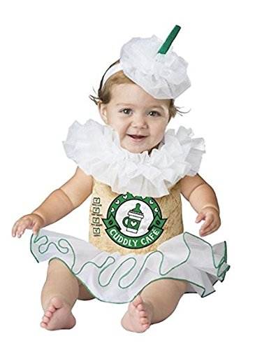Mommy and Me Cappuccino Cutie Baby Girls Halloween Costume (12-18 Months) ()