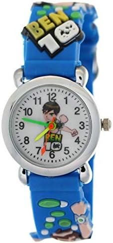 ساعة يد للأطفال من السيليكون فرقة Ben10 Game Catoon تويز ساعات ثلاثية الأبعاد حزام مطاطي آمنة العناية بالوقت Chirden Time Teacher Student Watch أزرق 2 Amazon Ae