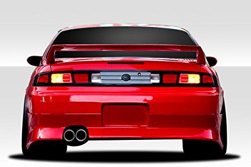 Spoiler Nissan 240sx Wing (1995-1998 Nissan 240SX Duraflex Kouki Rear Wing Spoiler - 1 Piece)