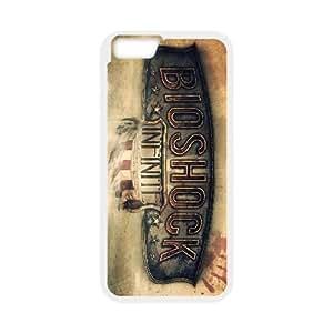 iPhone 6 Plus 5.5 Inch Phone Case White Bioshock Infinite V8800288