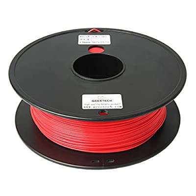 3D Printer supplies Filament RepRap PLA 1kg/roll Red