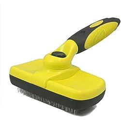 Unavimig Self Cleaning Slicker Brush,Dog & Cat Brush for Grooming Tools