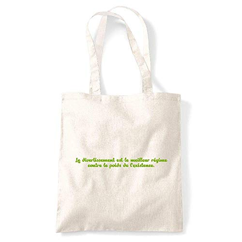 My de existance Tote kase bag Citation Creme Gs Coton poids l Naturel SrSq1w